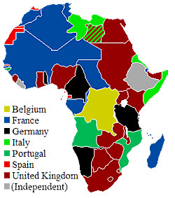 World history hybrid course map of european control of africa in 1914 gumiabroncs Gallery